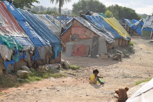 Life, livelihood and virus - Migrant camp